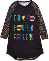 Intimo Power Rangers Black 'Go Go' Nightgown - Girls