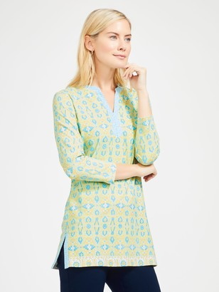 J.Mclaughlin Boca Tunic in Beachwalk Geo