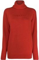 Ambush logo knitted roll-neck jumper
