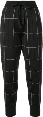 3.1 Phillip Lim Checked Track Trousers