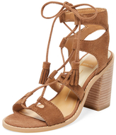 Dolce Vita Leary Lace-Up Leather Sandal