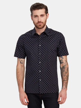 Theory Irving Short Sleeve Button Down Shirt