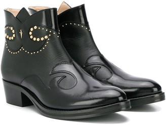 Cesare Paciotti Kids TEEN cossack ankle boots