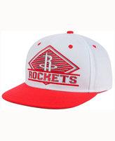 adidas Houston Rockets White Diamond Snapback Cap