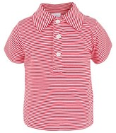 Rachel Riley Red & White Stripe Polo