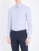 HUGO BOSS Slim-fit cotton Oxford shirt
