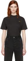 Vetements Black Basic 'Staff' T-Shirt