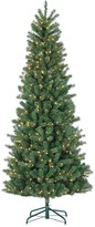 Sterling 7.5' Natural Cut Slim Montgomery Pine Artificial Christmas Tree