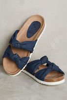 KMB Knotted Denim Slides