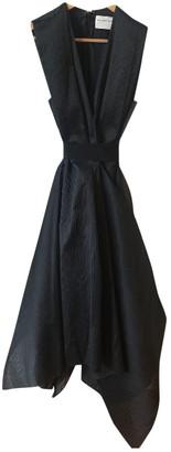 Maison Rabih Kayrouz Black Polyester Dresses