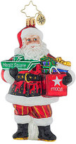 Christopher Radko Herald Square Santa Ornament, Created for Macy's