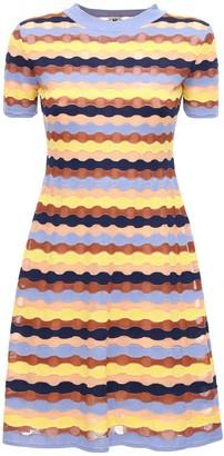 M Missoni Multicolor Knit Mini Dress