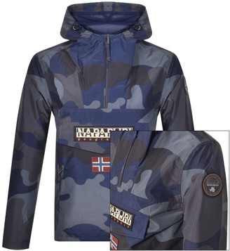Napapijri Rainforest Block Camo Jacket Black