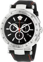 Versace Men's VFG040013 Mystique Sport 46mm Stainless Steel Chronograph Watch