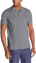 Izod Men's Short-Sleeve Newport Oxford Solid Pique Polo Shirt