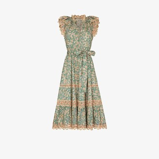 Ulla Johnson Lola broderie anglaise midi dress