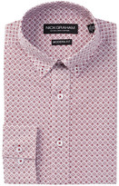 Nick Graham Printed Modern Fit Dress Shirt