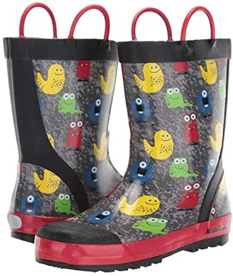 Kamik Monsters (Infant/Toddler/Little Kid) (Black) Kid's Shoes