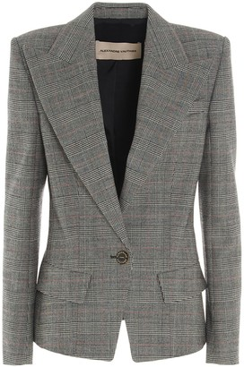 Alexandre Vauthier Prince Of Wales Blazer