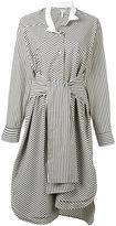 Loewe striped shirt dress - women - Cotton - 36