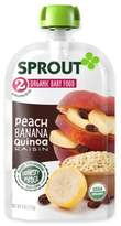 Sprout 4-Ounce Stage 2 Organic Peach, Berry, Oatmeal and Quinoa Blend