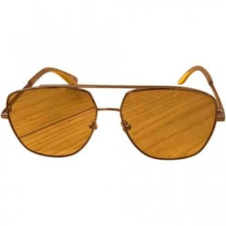 Marc Jacobs Yellow Metal Sunglasses