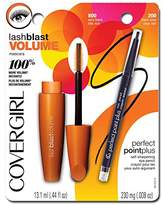 Cover Girl Lash Blast Volume Mascara and Perfect Point Plus Eyeliner,0.026 Pound