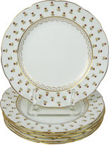 One Kings Lane Vintage Mintons Pansy Dinner Plates, S/6