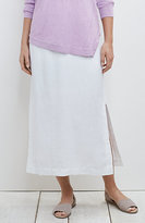 J. Jill Pure Jill Long Linen Skirt