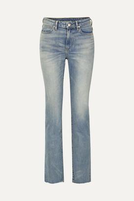 Simon Miller W009 Mid-rise Slim-leg Jeans - Mid denim