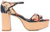 Tabitha Simmons Patton 90mm floral-print sandals