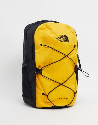 The North Face Jester backpack in yellow