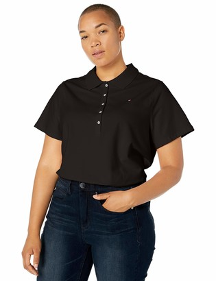 Tommy Hilfiger Women's Classic Short Sleeve Polo (Standard and Plus Size)