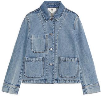 Arket Denim Workwear Jacket