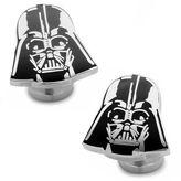 Star Wars STARWARS Recessed Matte Darth Vader Head Cuff Links