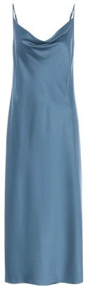 Max Mara Leisure Teoria satin slip dress