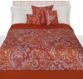 Etro Walham Quilted Bedspread - 270x270cm - Orange
