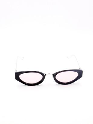 Chrome Hearts Oval Frame Sunglasses