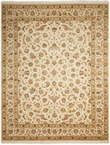 """Nourison Royalty RO51 Ivory 8'6"""" x 11'6"""" Hand-Knotted Rug"""