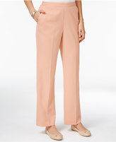 Alfred Dunner Just Peachy Pull-On Pants