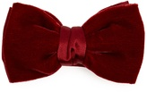 Lanvin Velvet and satin bow tie