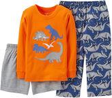 Carter's 3-pc. Mix-and-Match Dinosaur Pajama Set - Boys 12-24m