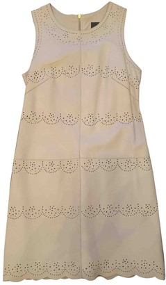 French Connection Beige Leather Dress for Women