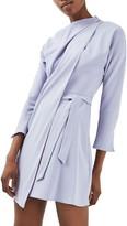 Topshop Women's Drape Neck Dress