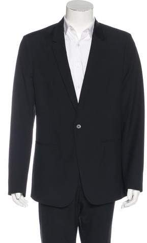 Maison Margiela Single-Button Wool Blazer