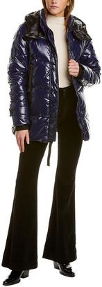 Kensie Zip Front Bomber Jacket