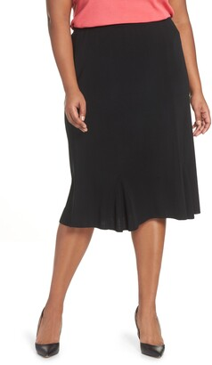 Ming Wang Gore Flare Skirt