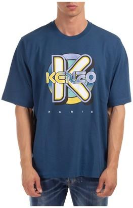 Kenzo Short-Sleeve Crewneck T-Shirt