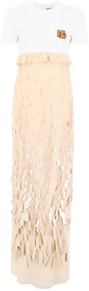 Prada Embellished Layered Dress
