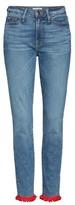 Good American Women's Good Legs High Waist Pom Jeans